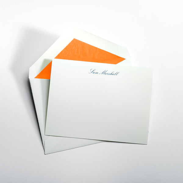 Custom Stationery - Set of 100 - Standard Size Notes
