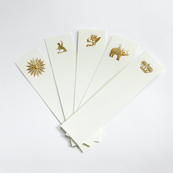 Gold Assorted Bookmarks II