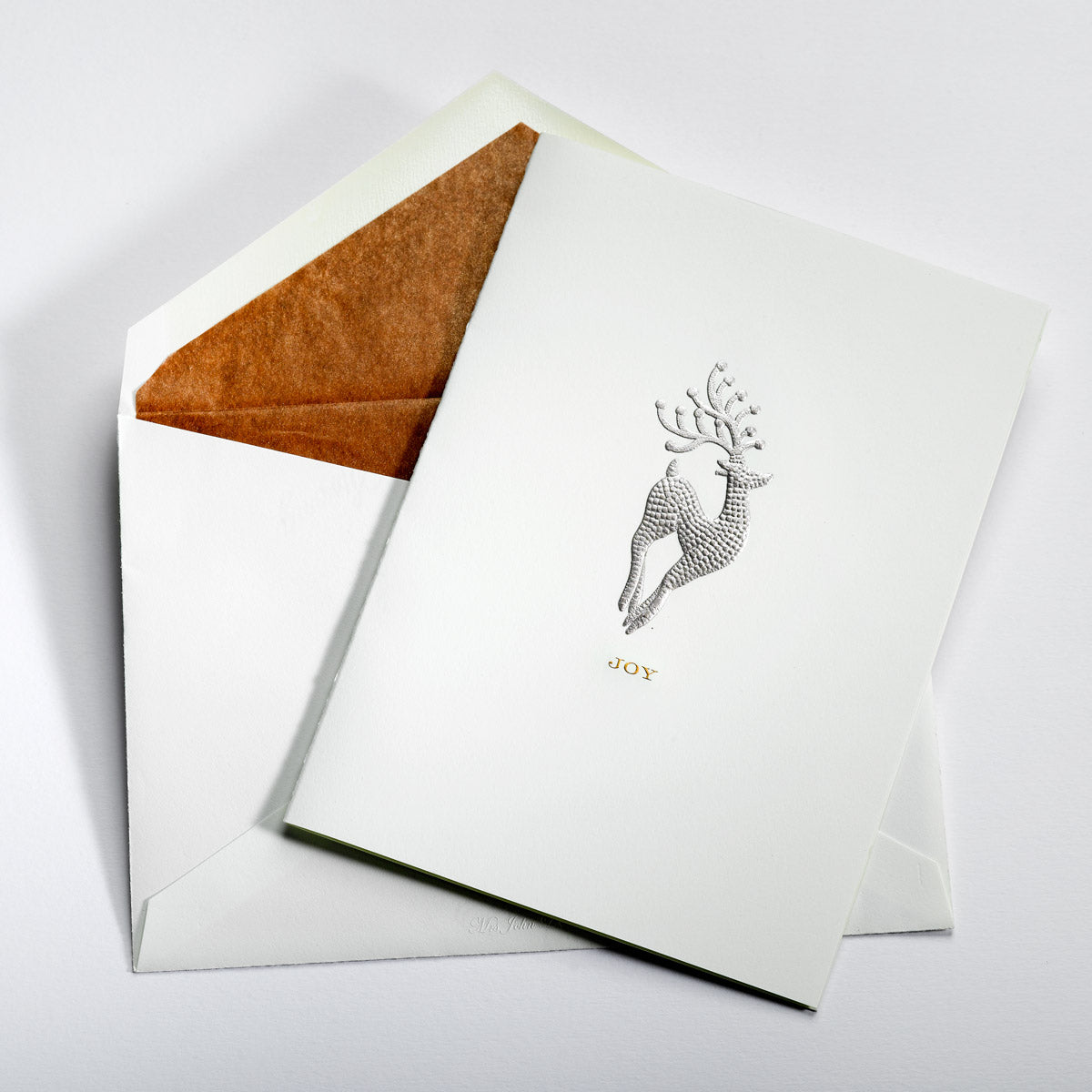 Dancing Reindeer Joy Notecard
