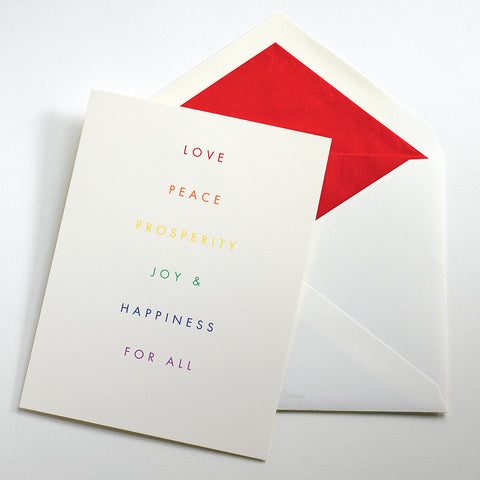 Love For All Holiday Card