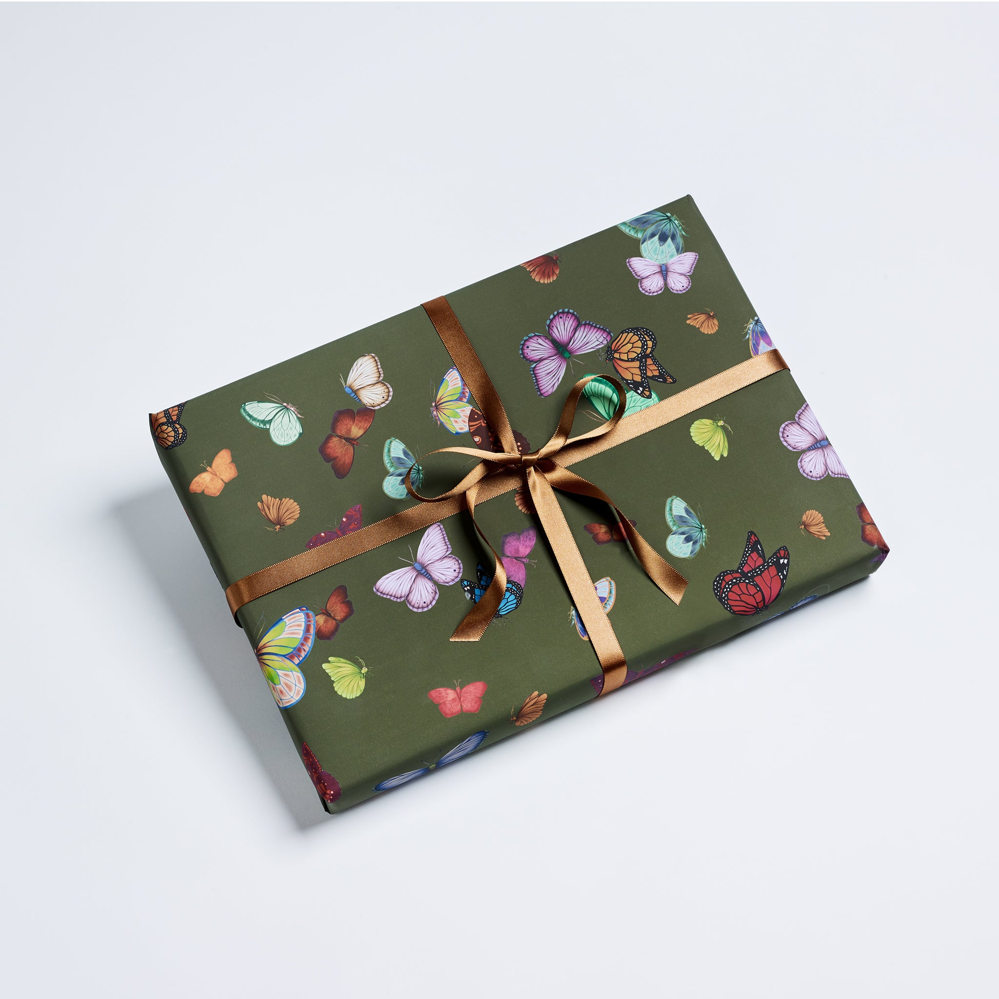 Butterfly Wrapping Sheets – Olive