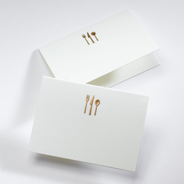 Silverware Place Card