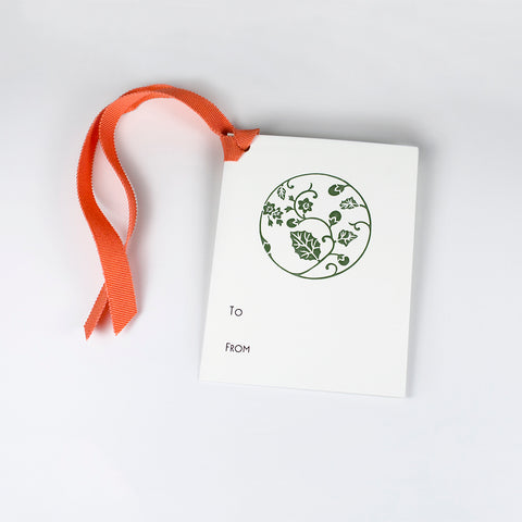 Japanese Medallion Gift Tag
