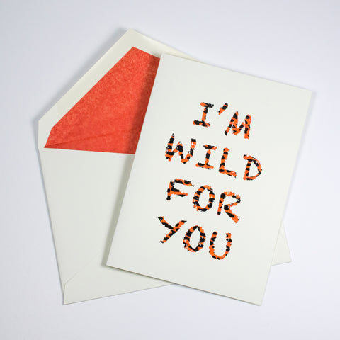 Wild For You Individual Card