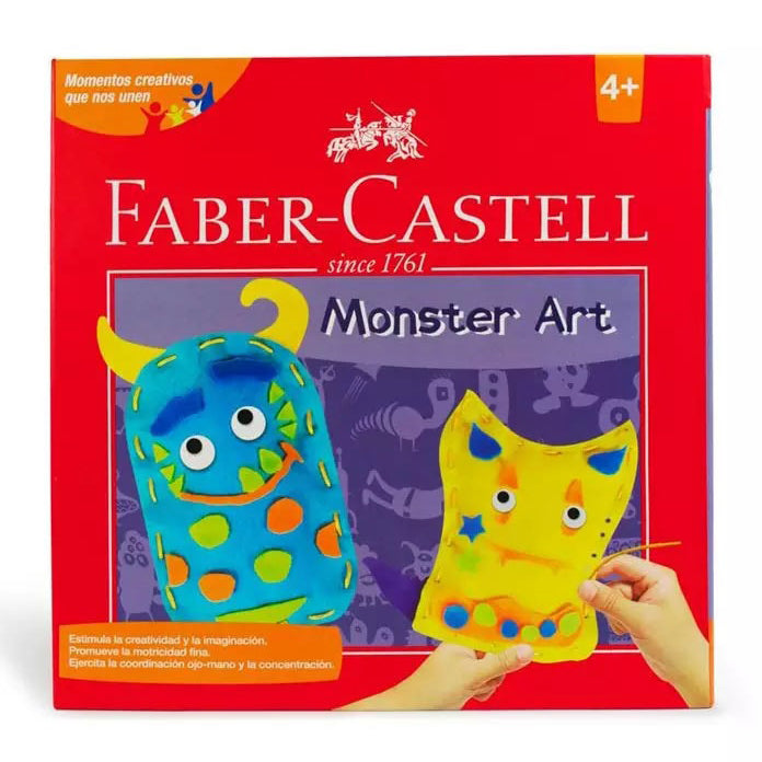 Set Creativo Faber Monster Art