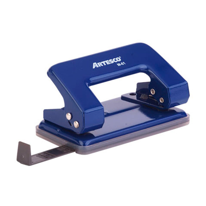 Perforador Artesco Escolar M-01 Azul