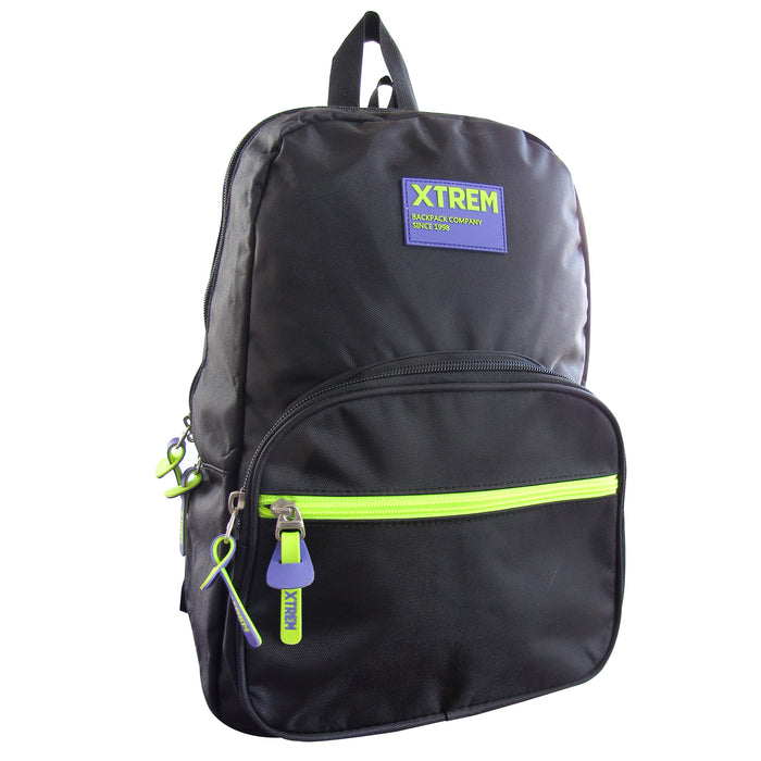 Mochila Xtrem Comet 718 Black/Purple