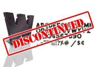 Dimensional Slotted Letters