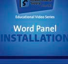How to install Word Panels