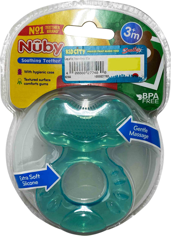 Nuby Round Teether With Ribs