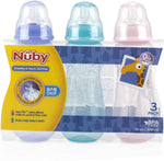 NUBY 3PK BOTTLE SET