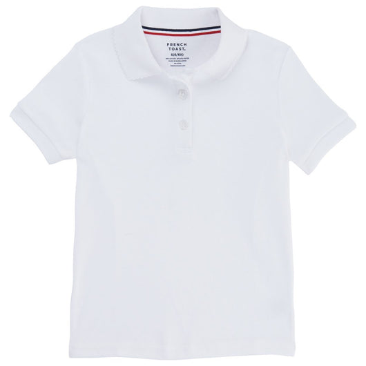 Toddler French Toast Short Sleeve Interlock Polo