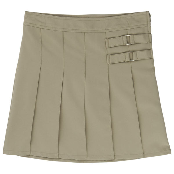 French Toast Two Tab Pleated Skirt