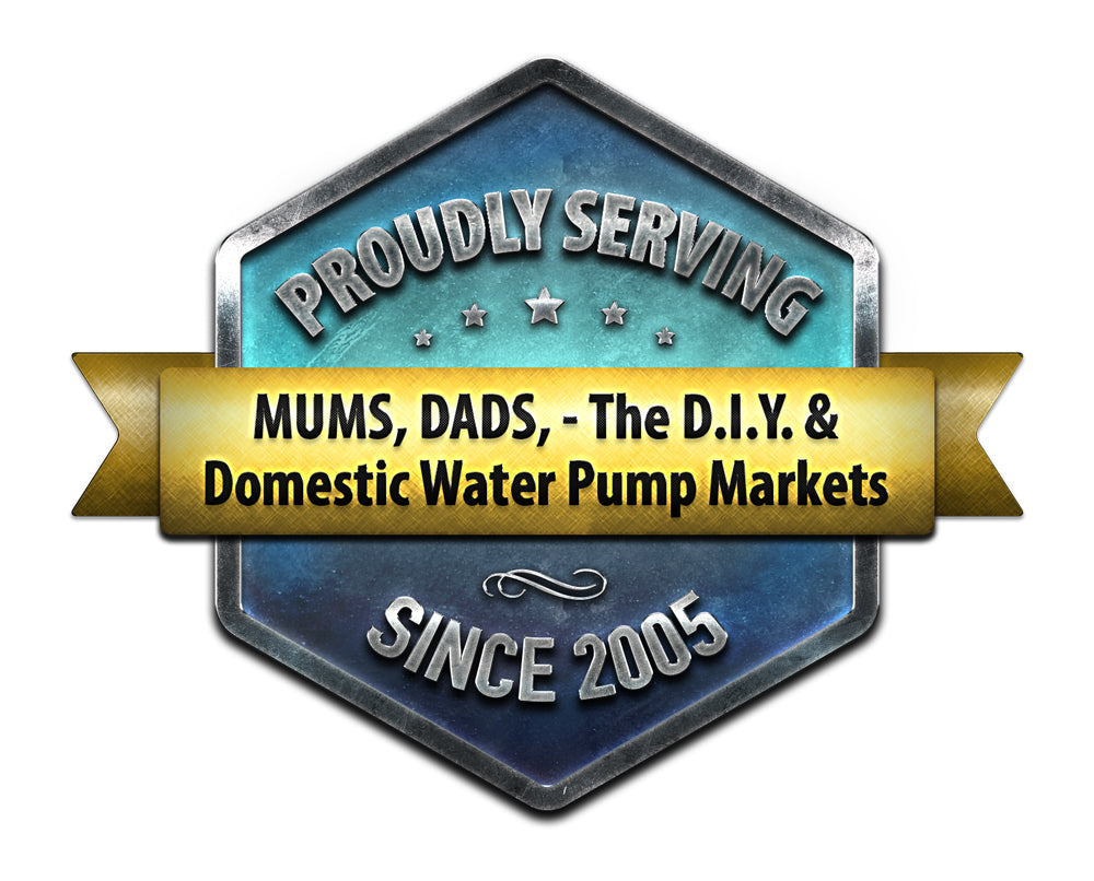 Proudly Serving Mums and Dads, the DIY and the Domestic Pump Market Since 2005
