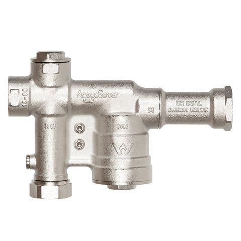 "Solid Brass AcquaSaver Mains Water Switching Valve  BAS25  1""-25mm comes with FREE Shipping"