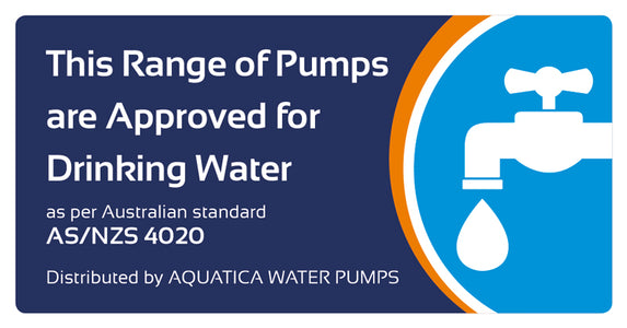 1000 Watt Clean Water Multistage Submersible Pump with External Float - AS/NZS 4020 Approved and FREE Delivery*