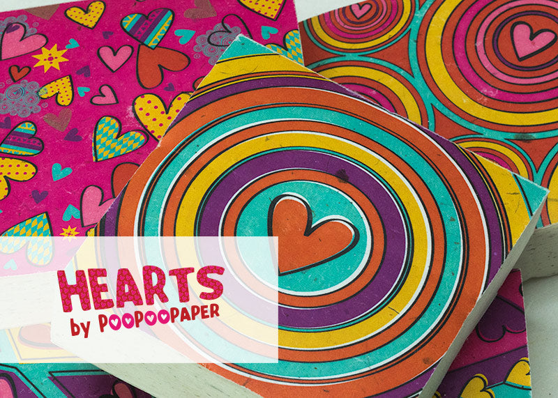 Hearts by POOPOOPAPER™