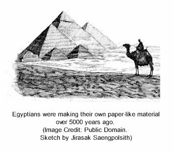 Egyptians were making papyrus 5000 years ago