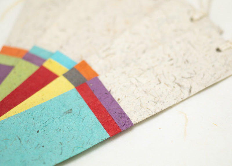 Eco-Friendly, Tree-free, Chemical free, sustainable Bookmarks made from Elephant POOPOOPAPER