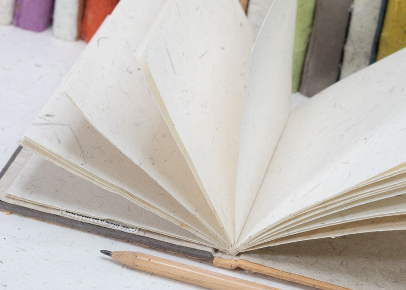 Eco-Friendly, Tree-free, Chemical free, sustainable POOPOOPAPER Notebooks and Journals