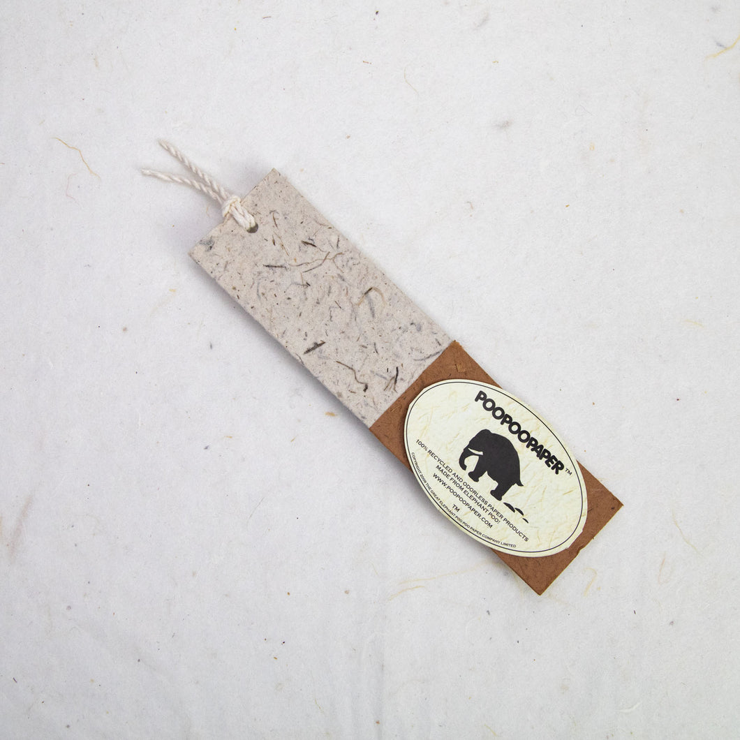 Classic Elephant POOPOOPAPER - Bookmarks - Bark - Set of 10