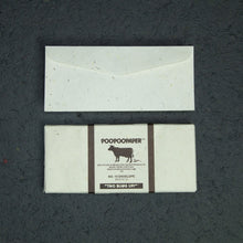 Load image into Gallery viewer, Eco-Friendly 7 Tree-Free - Cow POOPOOPAPER - No.10 Size Envelopes