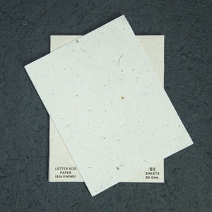 Eco-Friendly, Tree-Free, Letter Size Cow POOPOOPAPER - A4 - 50 Sheets