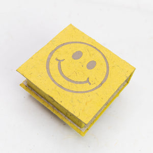 Pile of Smile - Happy Face - Note Box and Scratch Pad Refill Set