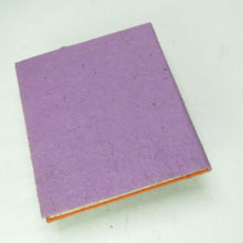 Load image into Gallery viewer, Eco-Friendly, Tree-Free POOPOOPAPER - Savannah Sunset Journal - Lion - Purple - Back