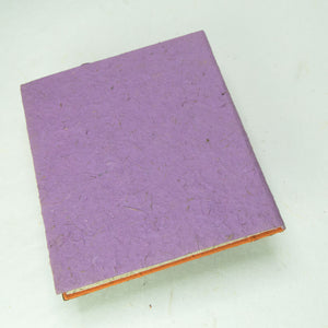 Eco-Friendly, Tree-Free POOPOOPAPER - Savannah Sunset Journal - Lion - Purple - Back