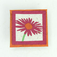 Load image into Gallery viewer, Flower Garden - Greeting Card - Single Pink Flower -  (Set of 5)
