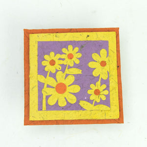 Flower Garden - Greeting Card - Yellow Bunch of Flowers