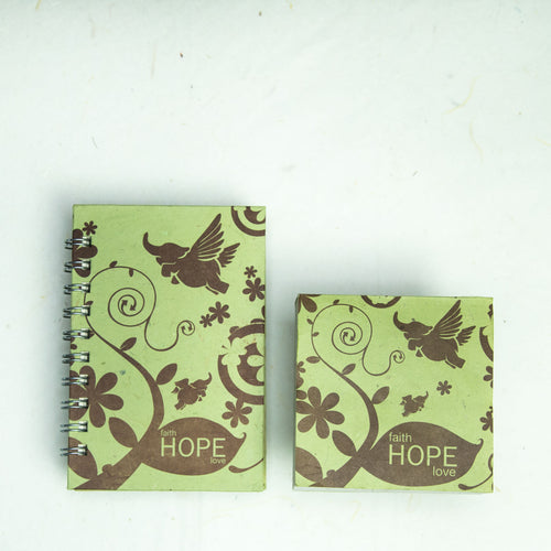 Inspirational POOPOOPAPER - Hope - Journal and Scratch Pad Set