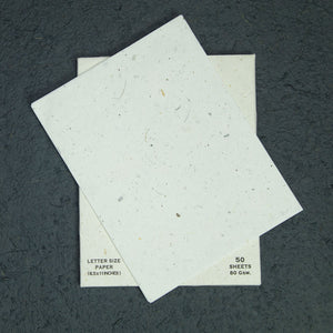 Eco-Friendly, Sustainable, Tree-Free, Letter Size Paper - Horse POOPOOPAPER - A4 - 50 Sheets