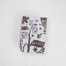 Load image into Gallery viewer, Inspirational POOPOOPAPER - Believe - Journal and Scratch Pad Set