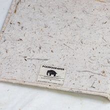 Load image into Gallery viewer, Classic Elephant POOPOOPAPER Two-Toned Journal - Bark