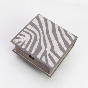 Jungle Safari Zebra - Note Box