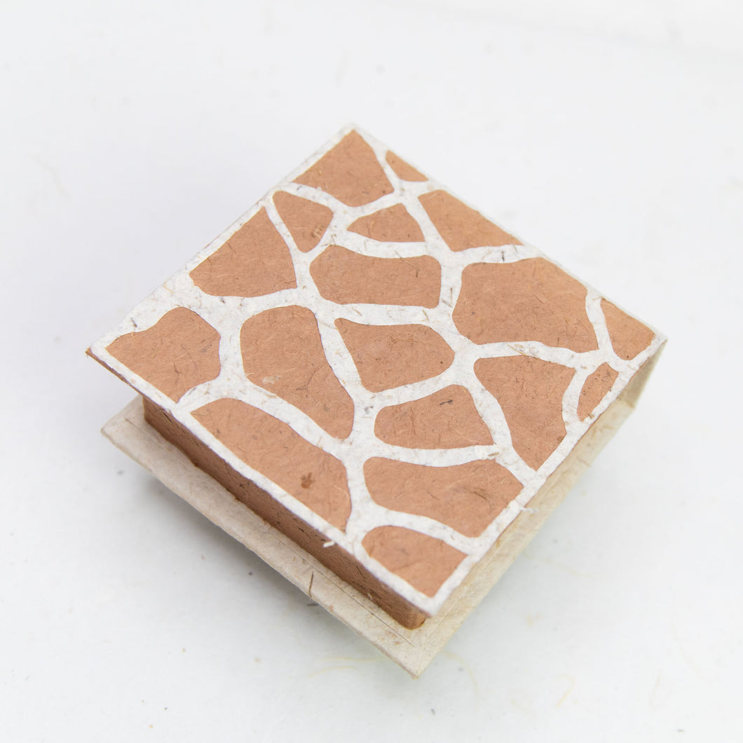 Jungle Safari - Giraffe - Note Box