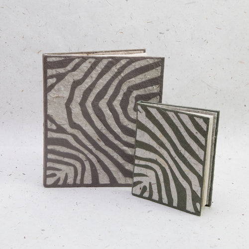 Jungle Safari - Zebra Journal and Mini-Journal Set