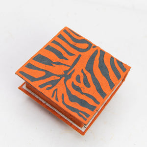 Jungle Safari - Tiger - Note Box and Scratch Pad Refill Set