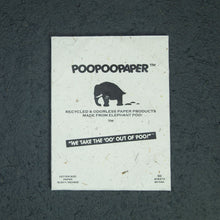 Load image into Gallery viewer, Eco-Friendly, Sustainable, Tree-Free, Letter Size Paper - A4  - Elephant POOPOOPAPER