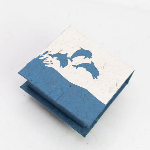 Sea-Life - Jumping Dolphins - Note Box