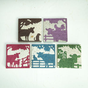 On The Farm - Cow - Scratch Pad (Set of 5)