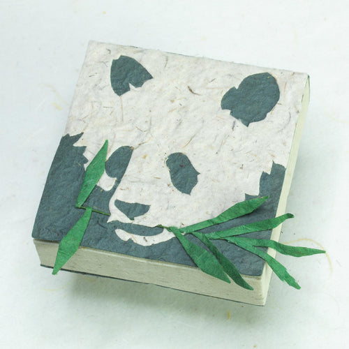 POOPOOPAPER Panda Face Scratch Pad (Set of 3) - Front