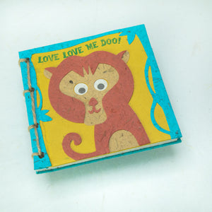 "Faces at the Zoo - Twine Journal - MONKEY - ""Love Love Me DOO!"""