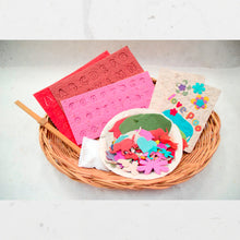 Load image into Gallery viewer, DIY - POOPOOPAPER Greeting Card Decorating Kit