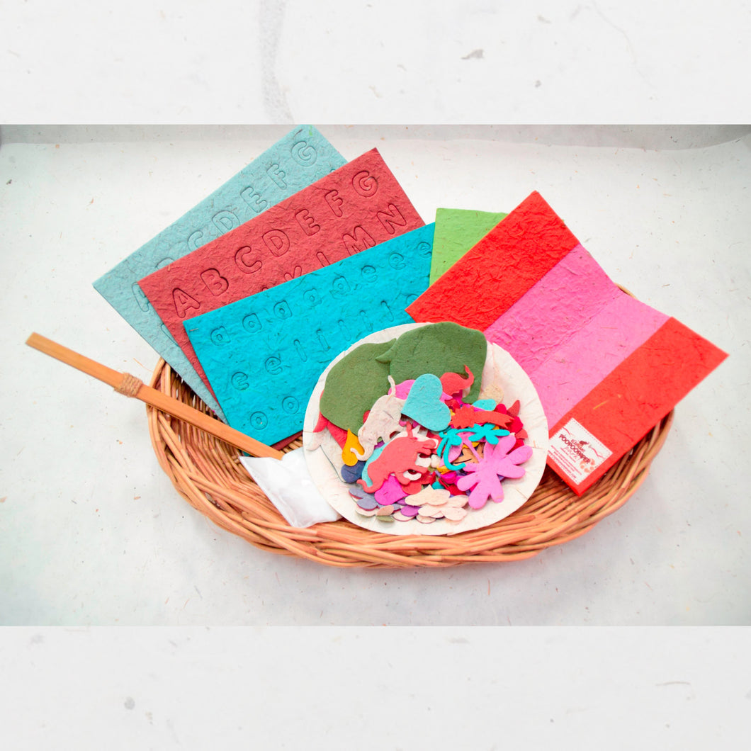DIY - POOPOOPAPER Passport Cover Decorating Kit