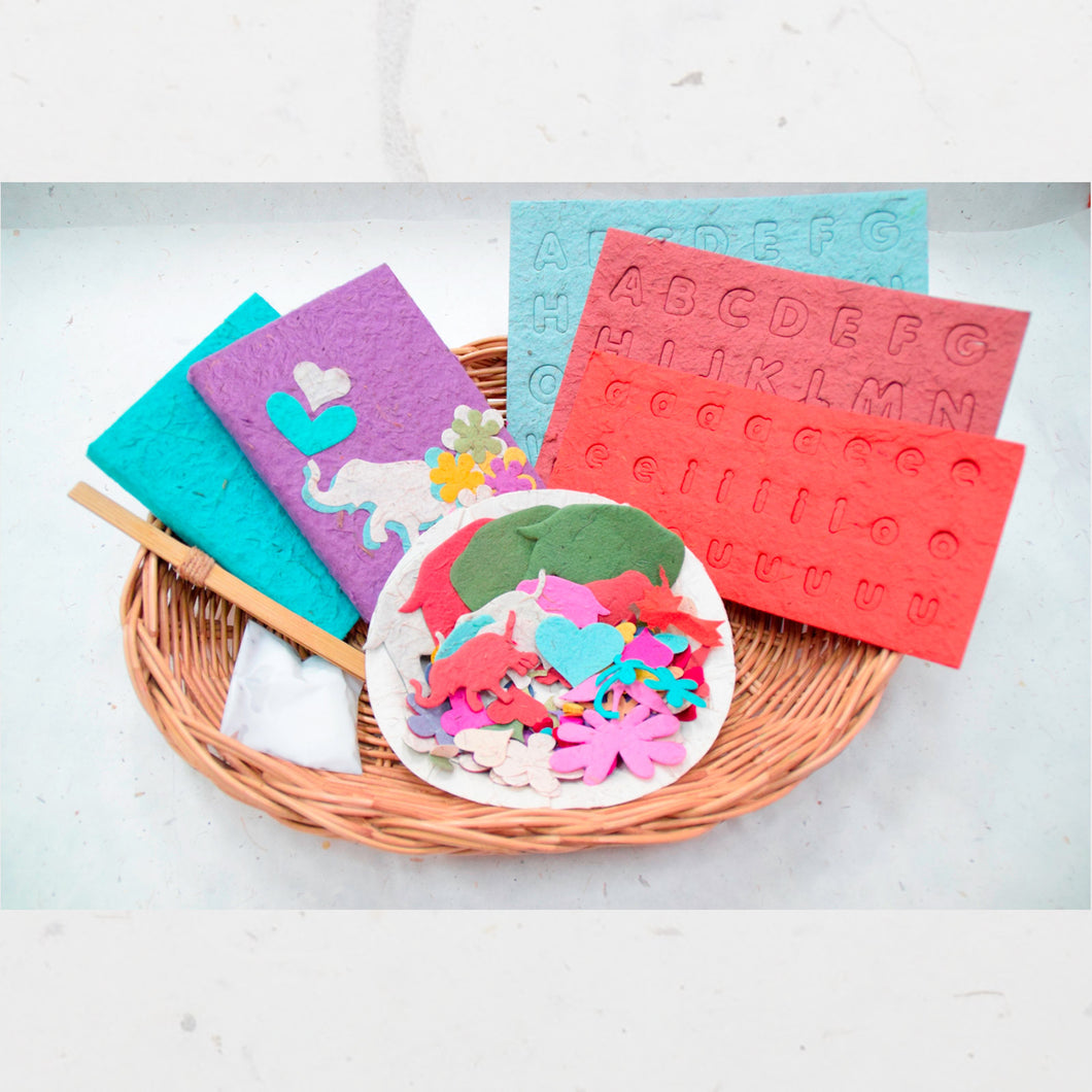 DIY - POOPOOPAPER Mini-Journal Decorating Kit