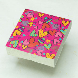 Hearts by POOPOOPAPER - Set of 3 Scratch Pads