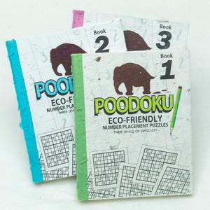 Poodoku - Three Volume Sudoku Number Placement Puzzle Set